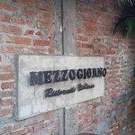 Entry Sign at Mezzogiorno