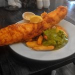 Our famous fish and chips
