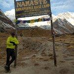 Annapurna Mountain Range Foto