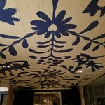 Hand painted ceiling
