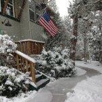 Winter snow flurries 2017