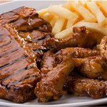 T-bone & Wings Combo