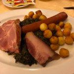 "Traditional North German dish - ""Gruenkohl"""