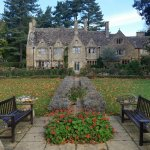 Gorgeous building and lovely garden