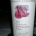 vin excellent comme toujours avec M. Colombo