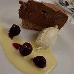 Toblerone cheesecake desert