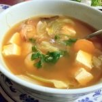 Fish, Shrimp, Noodles Soup $7.95