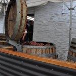 Barrels cooking
