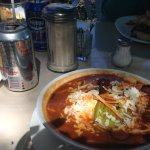 Azteca Soup..Just spicy enough..