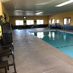 Relax in our Indoor Pool and Heated Hot Tub! Open Late!