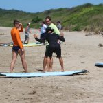 Surf lessons with JJ