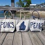 Custom Peaks Island Sea Bags