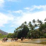 Horse riding in Yelapa
