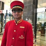 Excellent Doorman Zafar provided caring service
