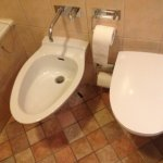 Bidet provided which I really like