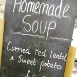 Every week we have a deliciously healthy homemade soup on offer