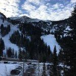 Ski runs on Snowbird