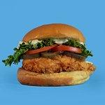 our Big crunch, crispy chicken burger - warning: very addictive!!