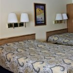 Upper level/superior room with 2 queen size beds.