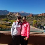 That view can be seen from almost everywhere throughout Garden of the Gods