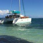 Snorkel and sailing day trip Cat at Playa Maroma Beach