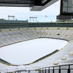 The Frozen Tundra: not a bad seat in the stadium