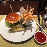 house burger. Great bun!