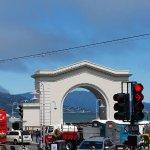 the train gates that dropped al copone off to sail to alcatraz