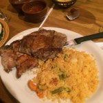 pork chops plus double rice