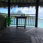 Beautiful views from Sofitel private island