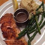 Scottish Salmon with rice pilaf