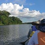 La reserva cuenta con una laguna donde se pueden ver muchos animales.