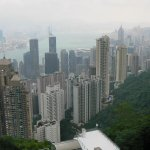 the view at Causeway Bay
