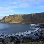 Cliffs from the Giant's Causeway
