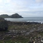 Giant's Causeway from the path