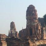 アユタヤ遺跡の写真