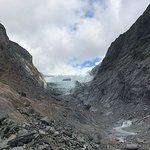 End of glacier walk