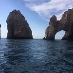 The famous Arc which we saw while on the glass bottom boat tour.