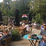 Cafe/restaurant inside park