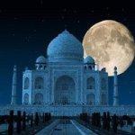 beautiful view  Taj mahal..