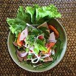 ร้านอาหาร ขนมจีน อาหารอีสาน เมนูปลาทับทิมกับข้าว บรรยากาศดี สไตล์ไทย อาหารราคาไม่แพง มีที่จอดรถ