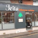 The frontage of Jeita, Guildford.