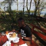 Breakfast by the lake Elementaita