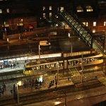 Trams at Night