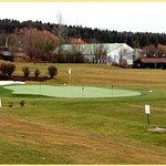 Der Golfplatz auf dem Hotelgelände