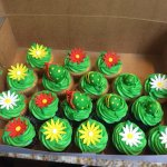 Little Shop of Horrors cupcakes