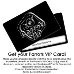 Get special discounts & benefits with the Parrots VIP promotion.