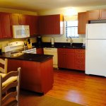 Newly renovated kitchen in Townhouse