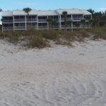 The 2600 beach villa building