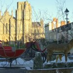 Wells Cathedral at Christmas